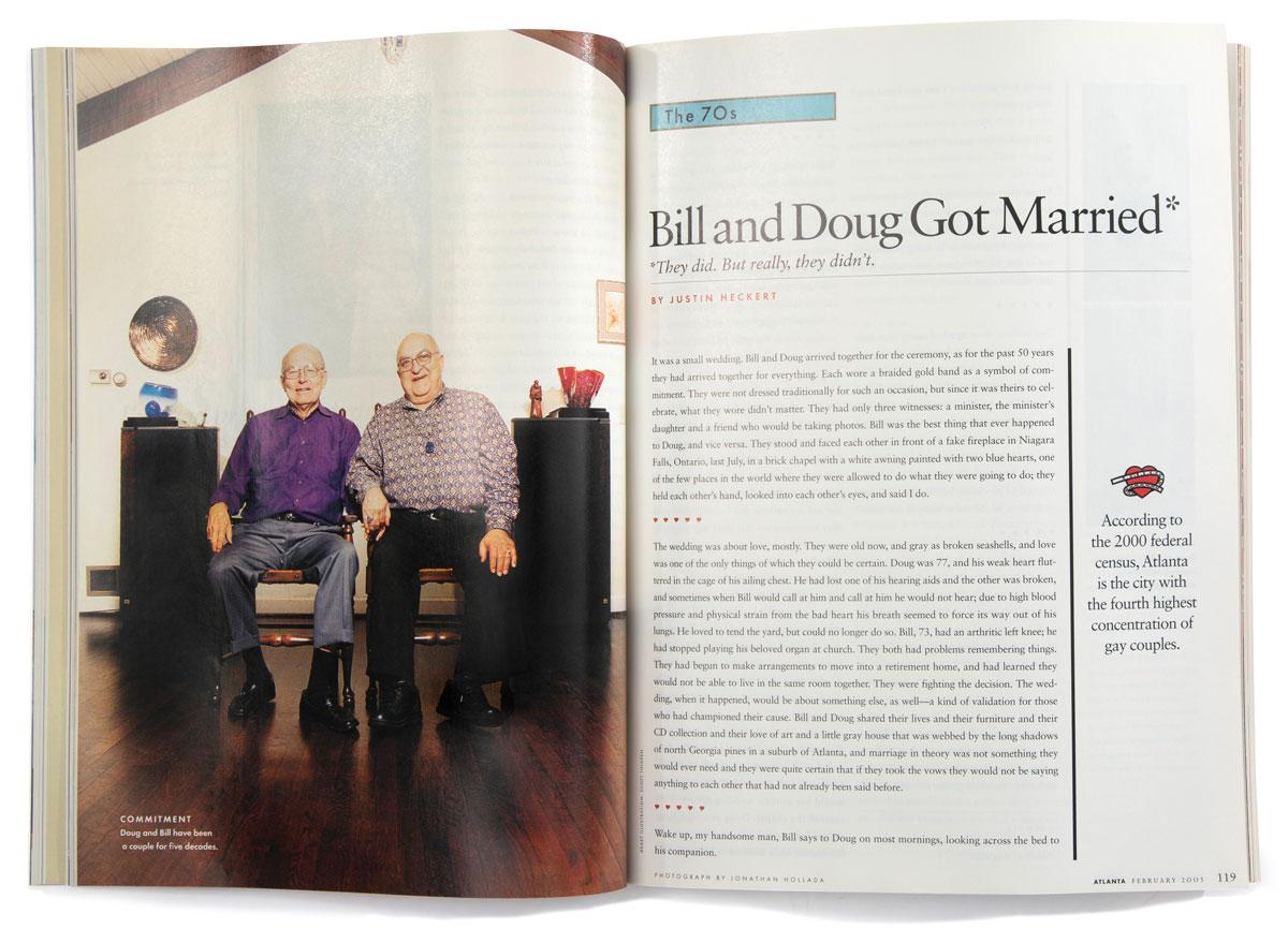 Bill and Doug Got married