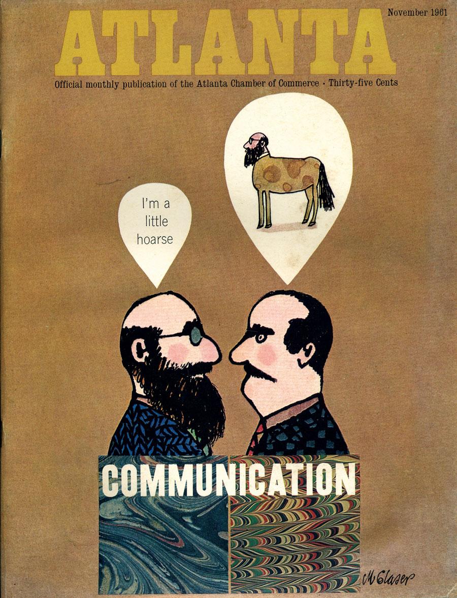 Atlanta Magazine November 1961 cover