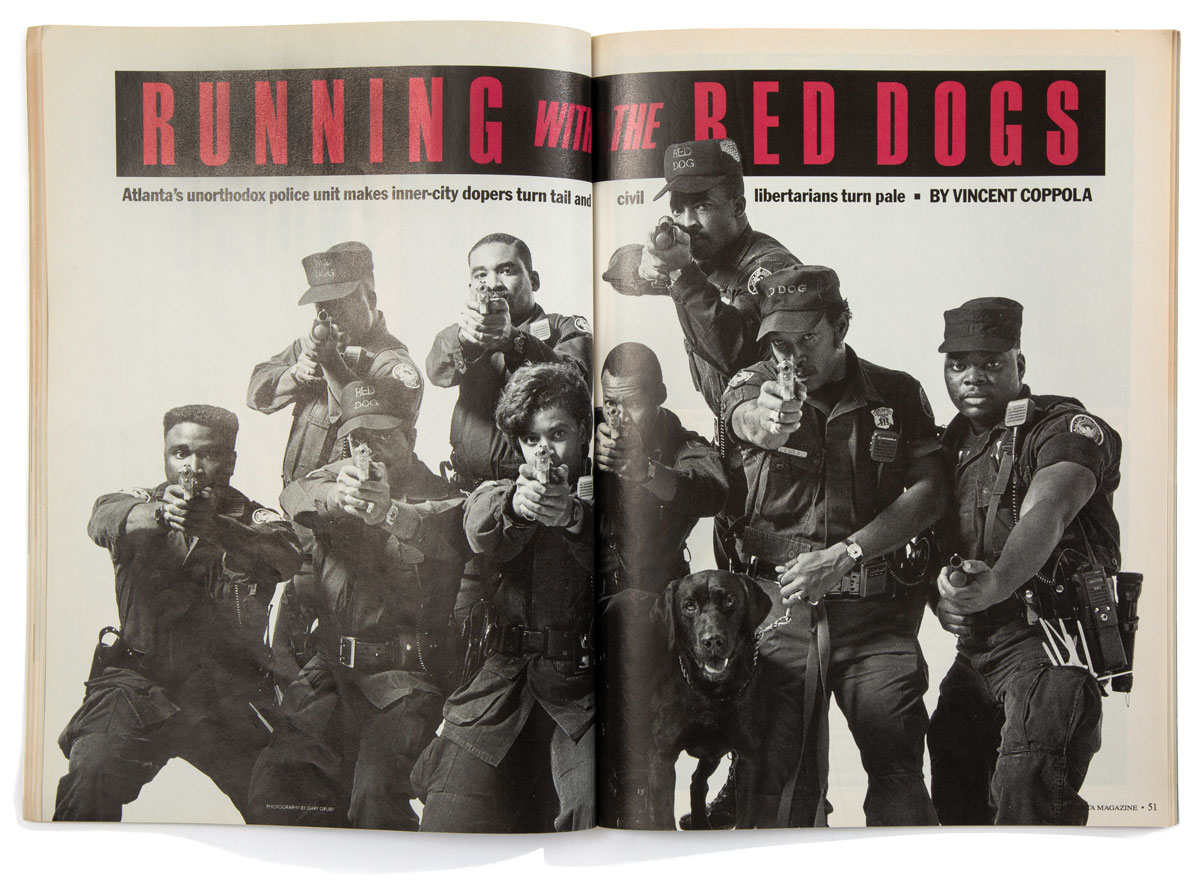 Running with the Red Dogs January 1990