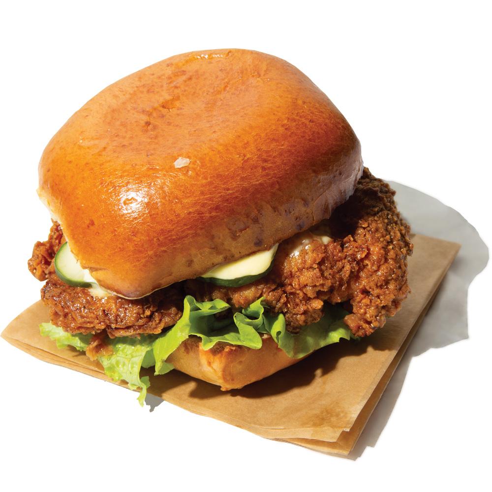 Chicken Out: Crispy Chicken Sandwich