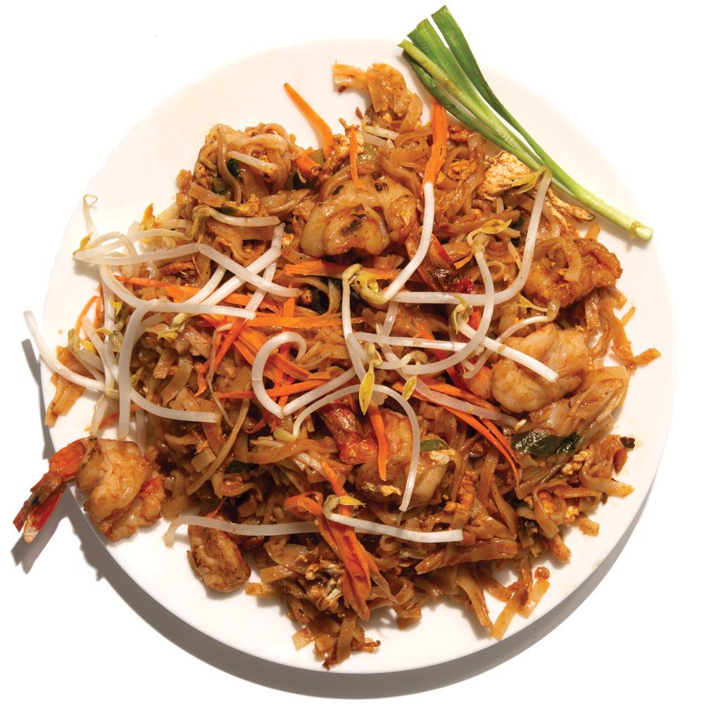 L'Thai: Pad thai boraan with shrimp