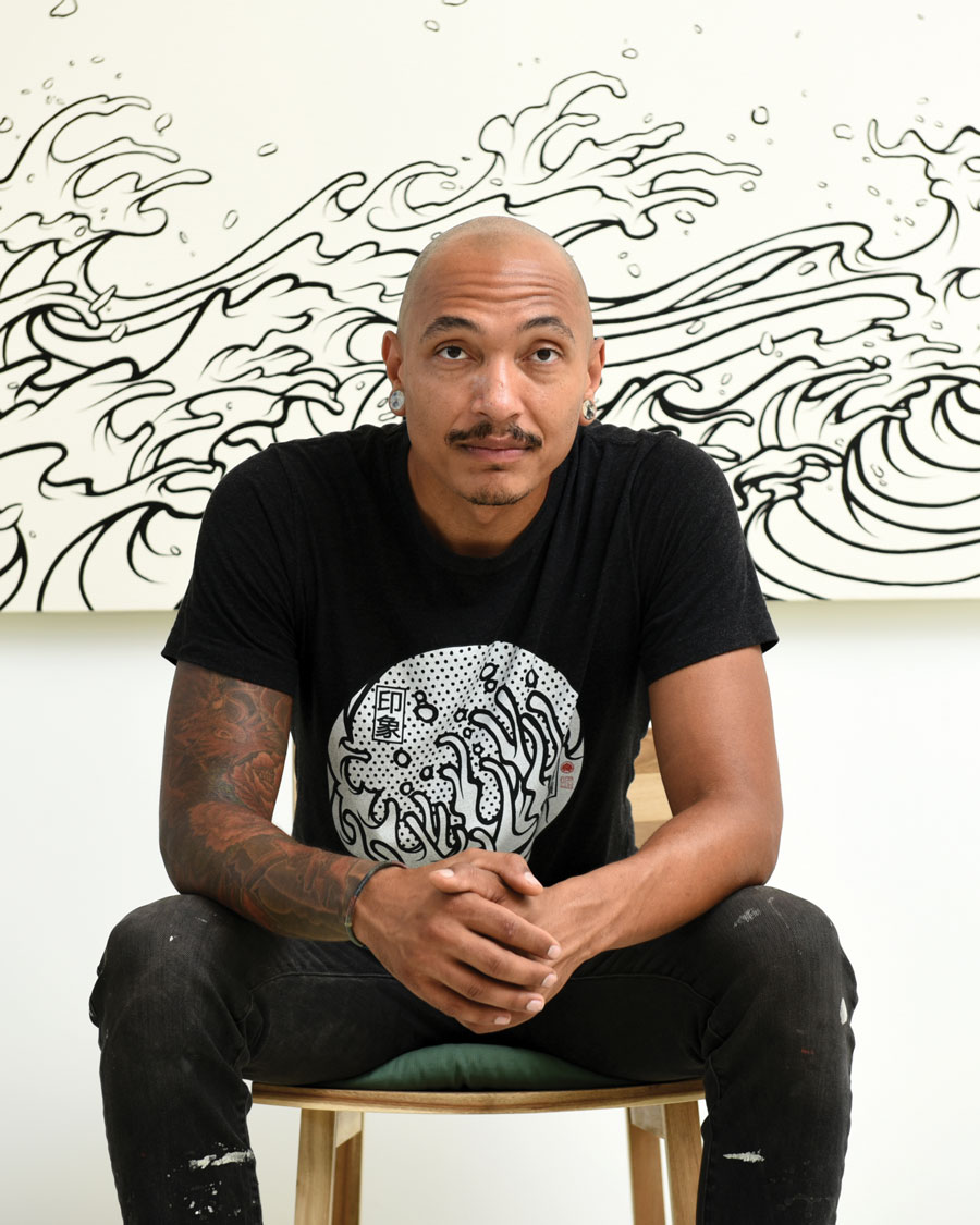 Brandon Sadler Atlanta artist