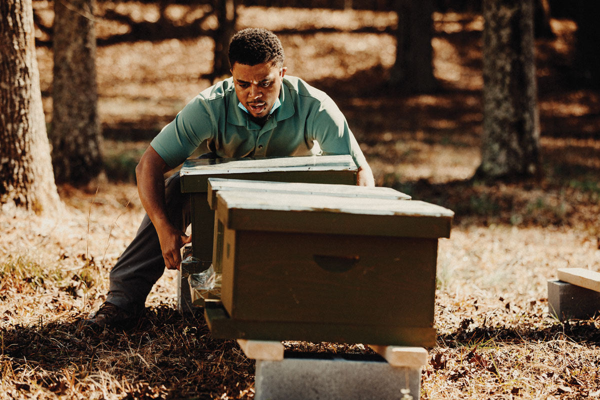 For Armond Wilbourn, beekeeping is about more than just the honey