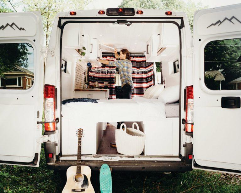 Renaissance van: An Atlanta company transforms ordinary vans into a stylish way to see the country