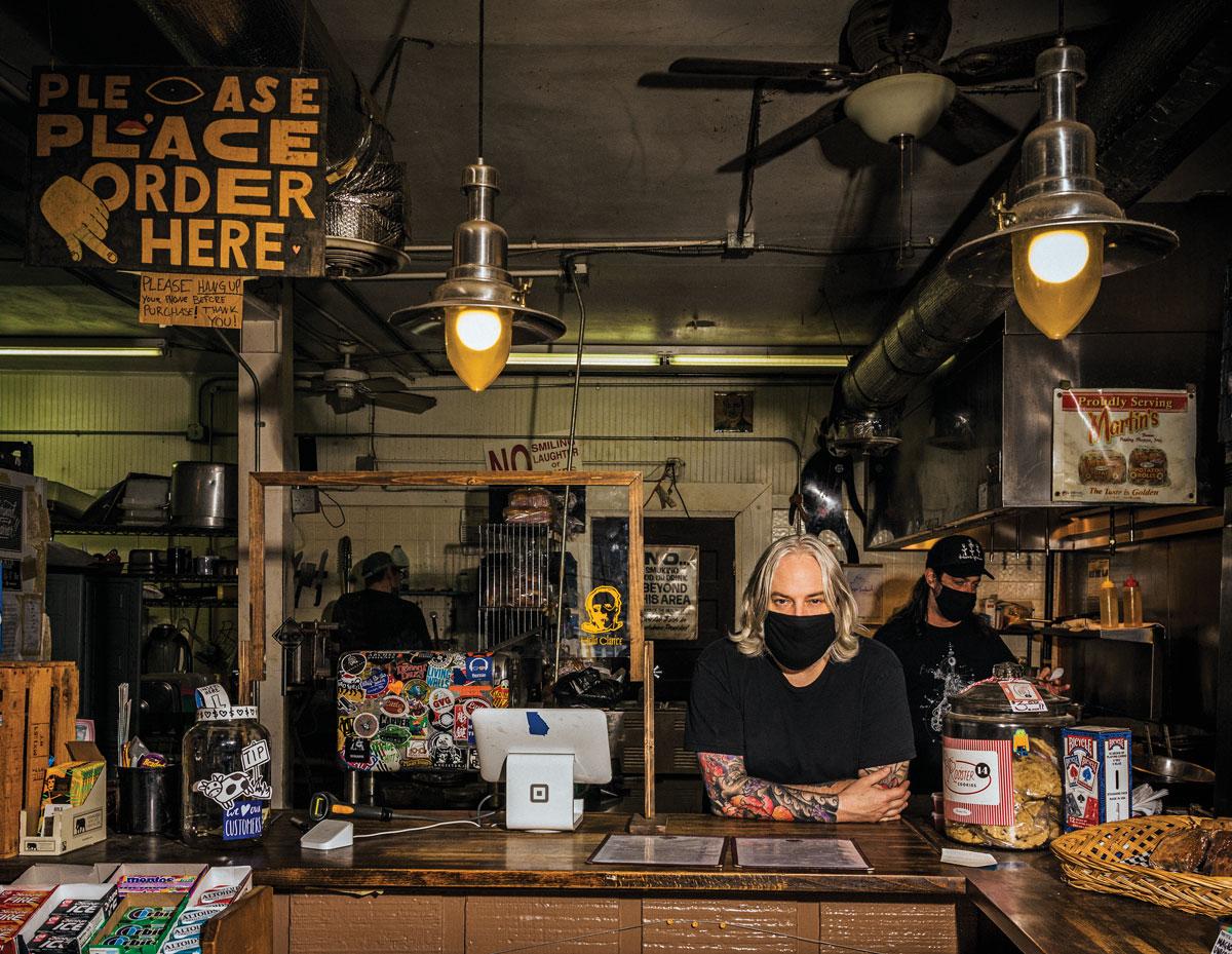 Brad Cunard Little's Food Store