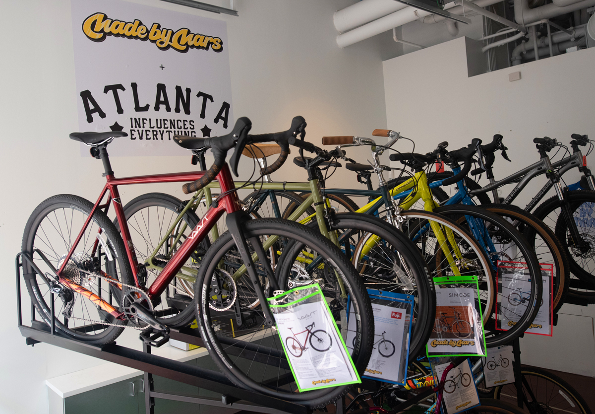 Made by Mars bike pop-up Atlantic Station