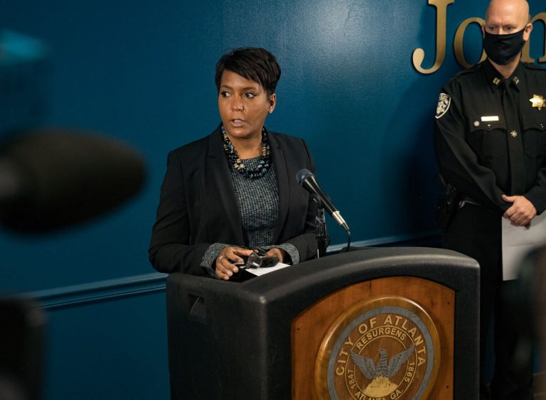 Mayor Keisha Lance Bottoms announces she will not seek re-election